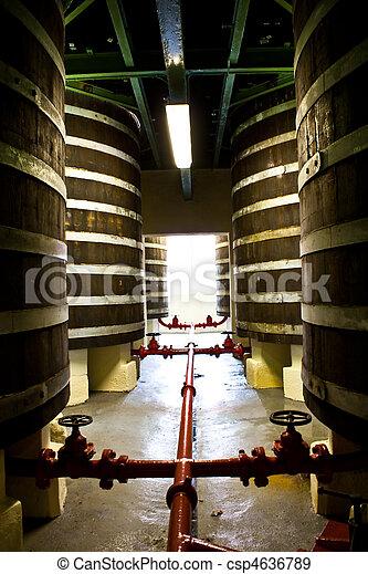 Whiskey distillery - csp4636789
