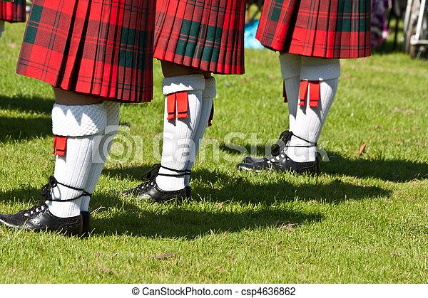 Scottish kilts - csp4636862