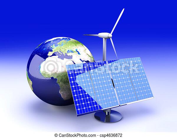 Alternative Energy - Europe - csp4636872