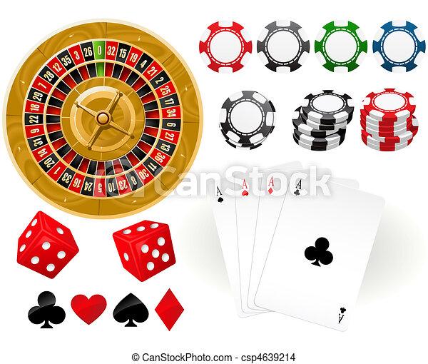 Gambling Goodies - csp4639214