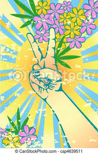 Flower power - csp4639511