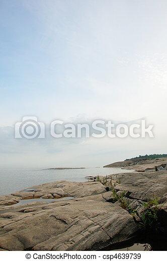 Rocky coastline - csp4639739