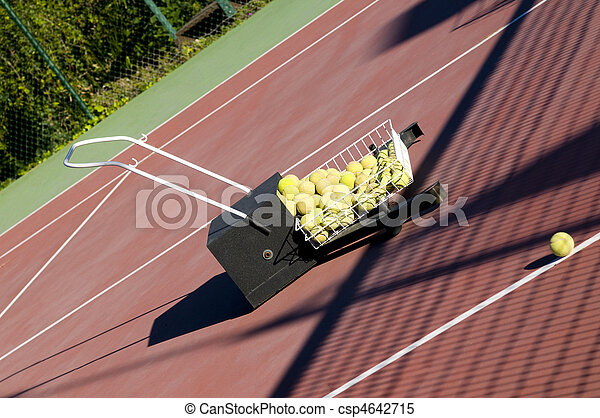 Tennis Ball Sweeper - csp4642715
