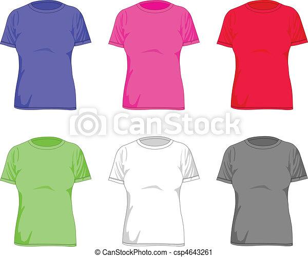 Women t shirts - csp4643261