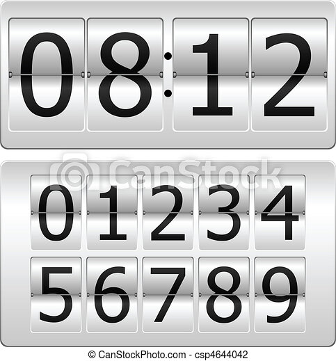 Digital Clock - csp4644042