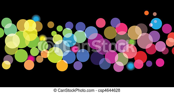 Bright color dots pattern - csp4644628