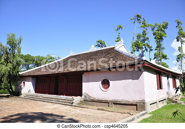 Temple Building - csp4645205