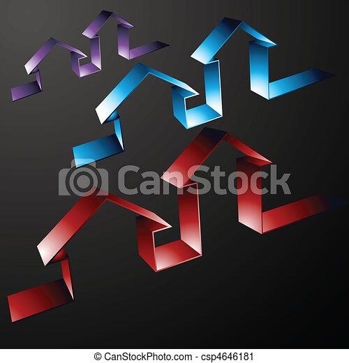 Property Line Icons - csp4646181