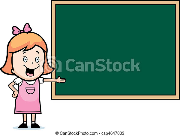 Child Chalkboard - csp4647003
