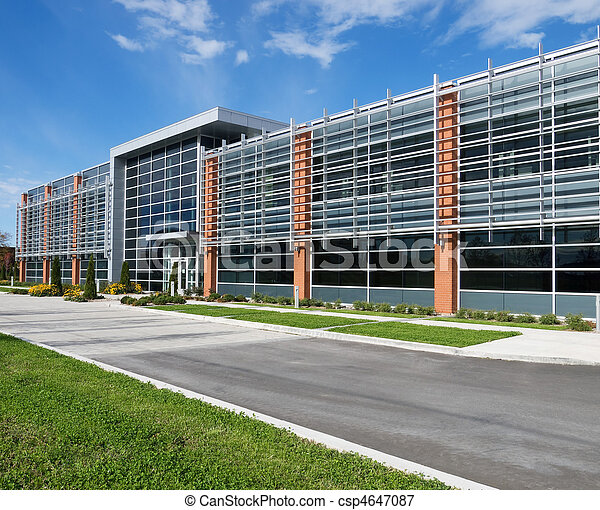 Office building facade - csp4647087