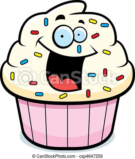 Cupcake Smiling - csp4647259