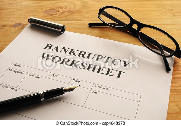 Printables Bankruptcy Worksheet collection of bankruptcy worksheet bloggakuten pictures form or document showing business