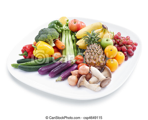 fruits and vegetables - csp4649115