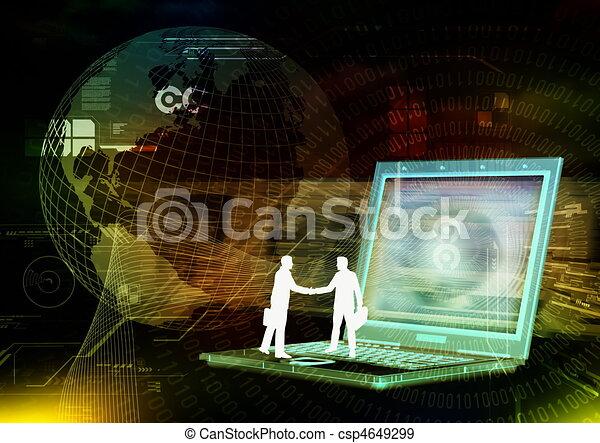 Ebusiness Cooperation  - csp4649299