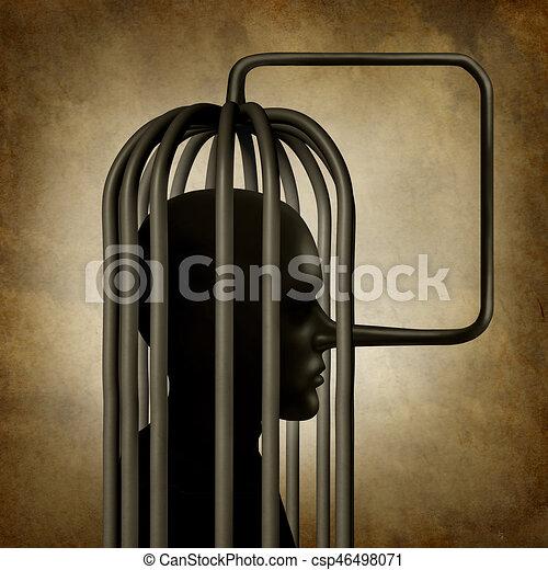 Incriminating Yourself - csp46498071