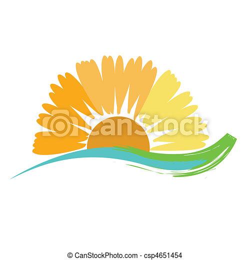 Sunflower Sunshine - csp4651454