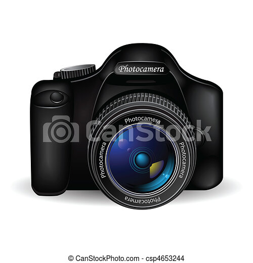 Vector photo camera - csp4653244