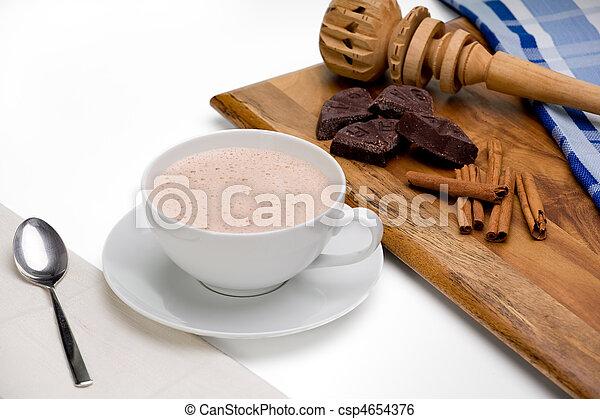 chocolate quente - csp4654376