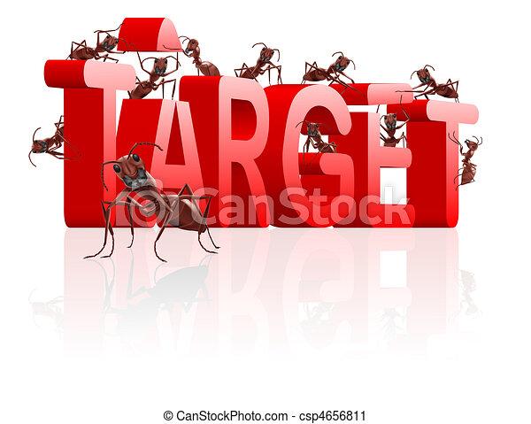 target building aim at goal targetting - csp4656811