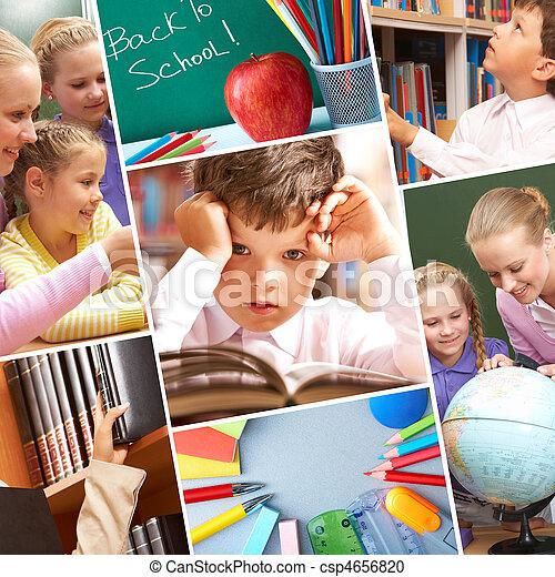 momentos, educação - csp4656820