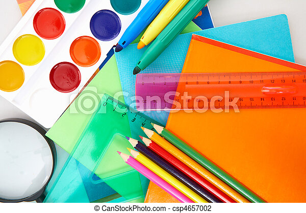 Educação, objetos - csp4657002