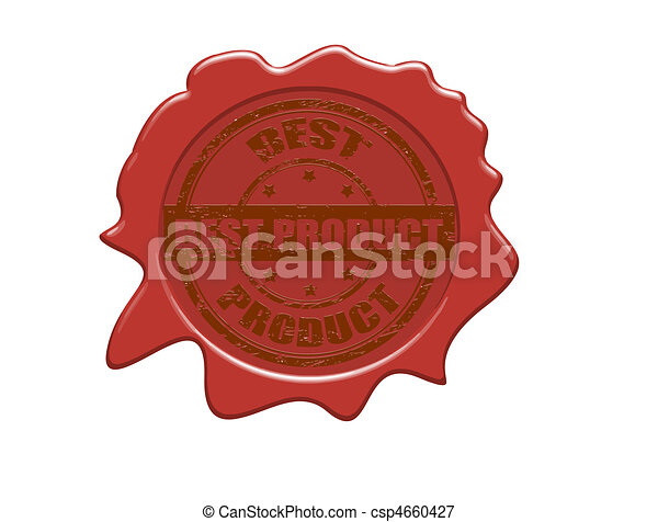 Best product wax seal - csp4660427