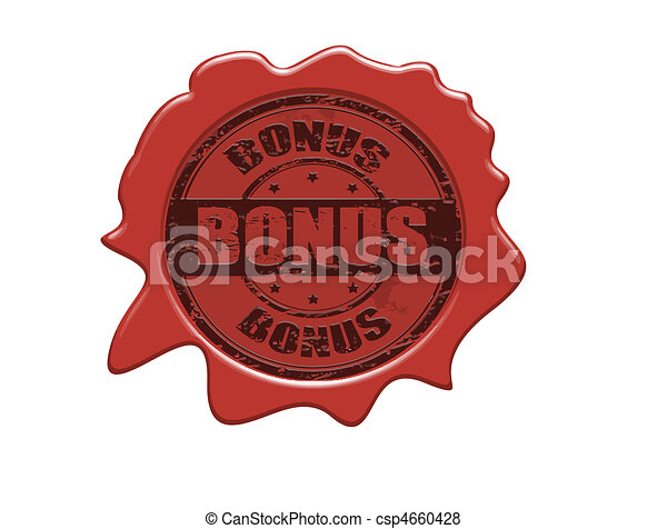 Bonus wax seal - csp4660428