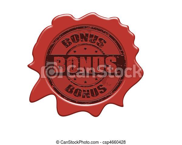 Bonus wax seal - csp4660428