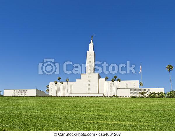 Mormon Temple, Los Angeles - csp4661267