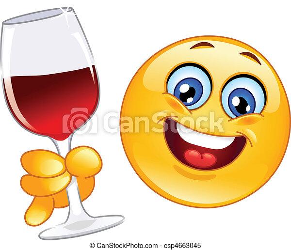 Cheers emoticon - csp4663045