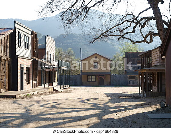 Paramount Ranch - csp4664326