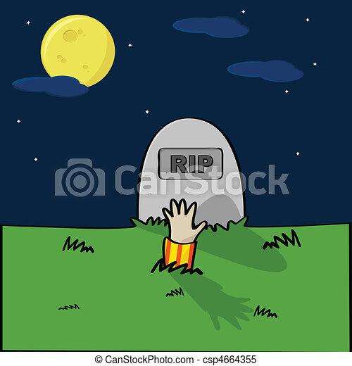 Living dead - csp4664355