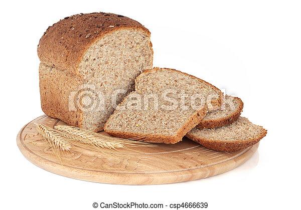 Whole Grain Bread - csp4666639
