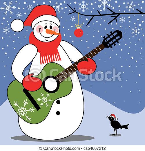 Christmas carol - csp4667212