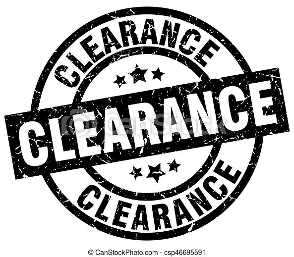 clearance round grunge black stamp - csp46695591