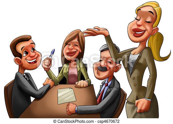 the executive reunion - csp4670672