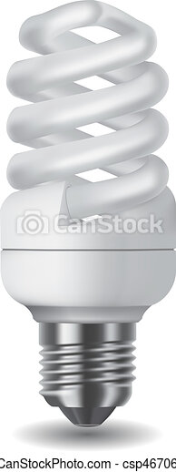 Energy saving light bulb - csp4670680