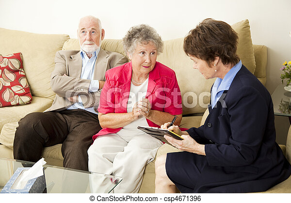 Marriage Counselng - Can You Help Us - csp4671396
