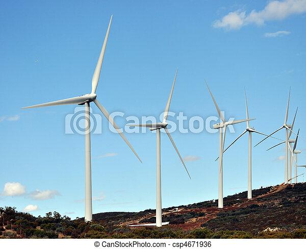 vento, cata-ventos - csp4671936