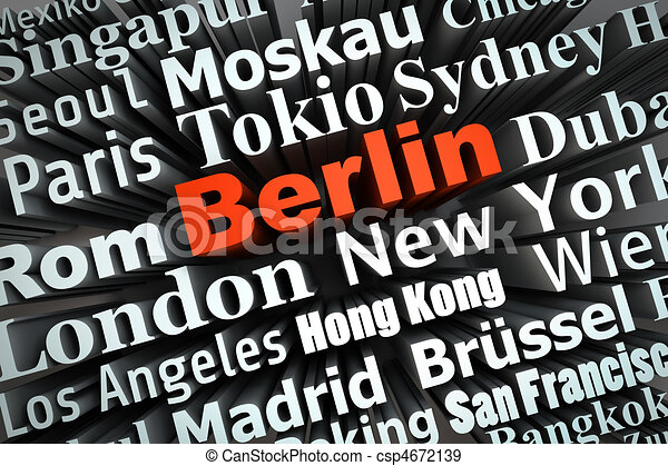 Metropolis Berlin - csp4672139