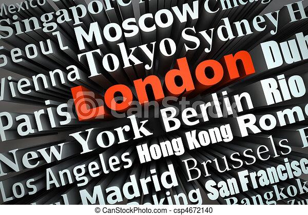 Metropolis London - csp4672140