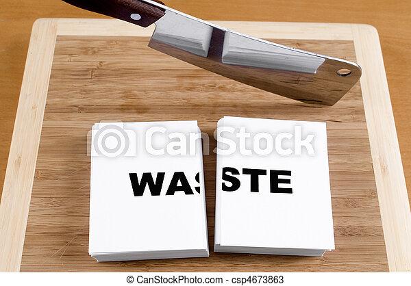 Cutting Waste - csp4673863