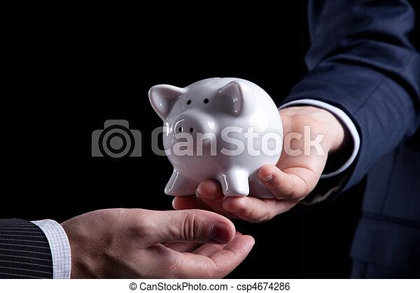 Banking service - csp4674286