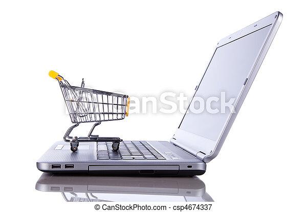 E-commerce concept - csp4674337