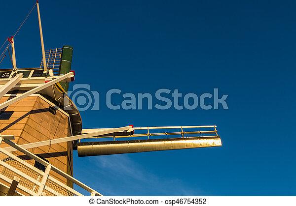 Blue Sky Windmill - csp46754352