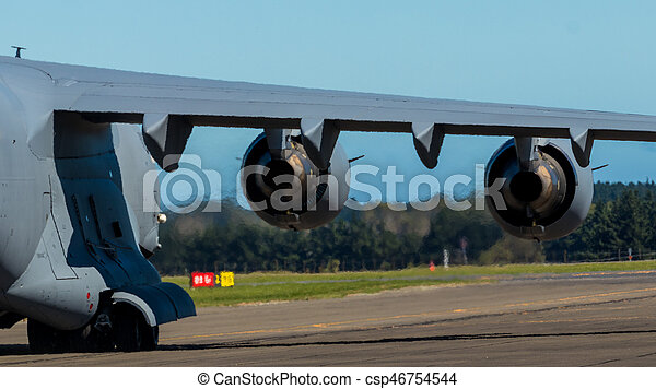 Force of Jet Engine - csp46754544