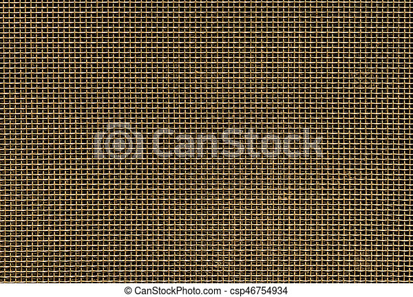 Golden Car Grill - csp46754934