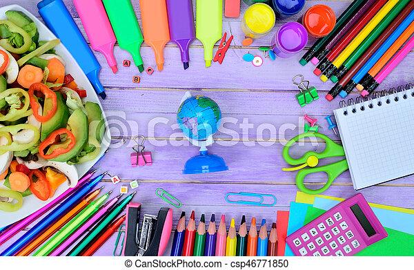 Tisch schule clipart  Stock Bilder von tisch, schule, erdeglobus, vorräte - Earth ...