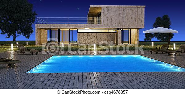 Banco de ilustra es de modernos casa piscina modernos for Videos porno gratis piscina