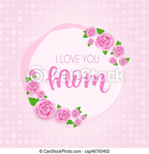 Mother's day greeting card. - csp46793402